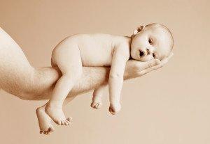 Normalus svorio netekimas kūdikiui