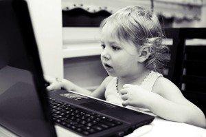 vaikas internete