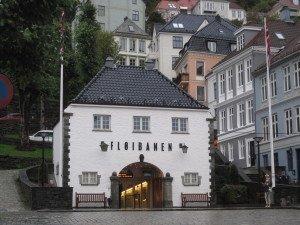 Funikulierius į Fløyeną, Bergene
