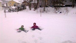 Norvegų vaikams nėra blogo oro