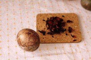 Virimas vaisinėje arbatoje