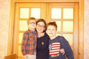 Rita su vaikais