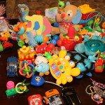 žaislų užterštumas