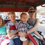 Evelina su vaikais