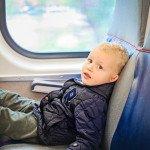 Jokūbas keliauja traukiniu