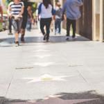 Los Andželas, Holivudas, šlovės alėja