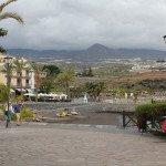 Playa de SAn Juan, miestelis, kuriame gyvenome Tenerifėje