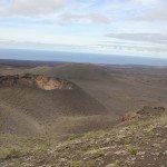 Timanfaya nacionalinio parko teritorijoje suskaičiuojama apie 300 išsiveržusių ugnikalnių kraterių