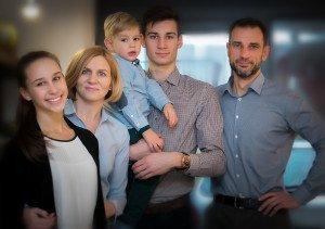 Lauciuvienės šeima