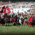 Karalius Vytautas joja į mūšio lauką