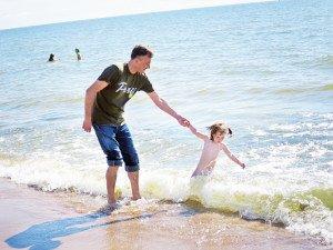 15 laipnsių jūros vanduo Marcelei buvo pats tas