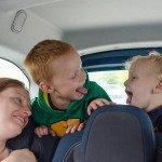 Automobilyje emocijos kunkuliuoja