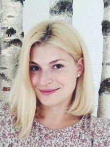 """vaikų darželio """"Basa pieva"""" vadovė Inga Domarkienė."""
