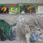 Plastikinės figūrėlės, užterštos ftalatais. Pagaminta Kinijoje.