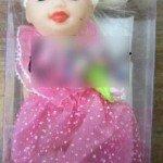 Lėlės, užterštos ftalatais. Pagamintos Kinijoje.