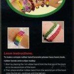 """5. Gumytės pynimui """"loom bands"""" ir jų priedai, užteršta ftalatais. Pagaminta Kinijoje."""