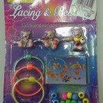 7. Žaisliniai papuošalai ir jų kūrimo rinkiniai, užteršti nikeliu. Pagaminta Kinijoje.