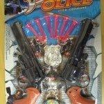 Žaisliniai ginklai, užteršti ftalatais. Pagaminta Kinijoje.