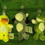 9. Minkšti žaislai, užteršti ftalatais. Pagaminta Kinijoje.