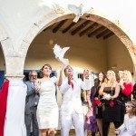 """Akimirkos iš vestuvių """"tik"""" su 180 svečių"""