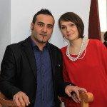 Rita su vyru Giorgos Karagiorgis