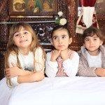 Vaikai Kipre dalyvauja visuose giminės susibūrimuose bei šventėse – krikštynose, vestuvėse