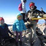 Teidės viršukalnė, 3718 metrai, Mėta su tėveliais