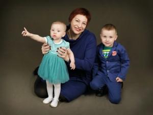 Jurgita su vaikais – Simonu ir Gabriele
