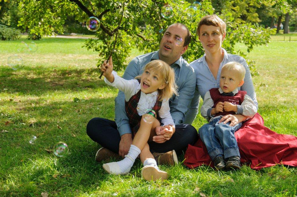 Lauros Stančės šeima
