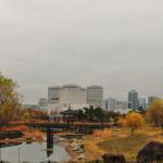 Parkas labai papuošia pilką miestą