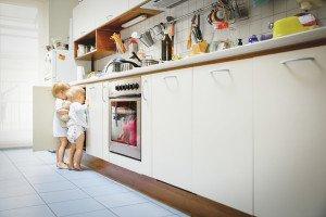 Kaip pritaikyti namus gimus kūdikiui