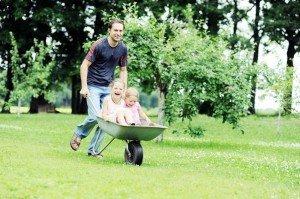 Kokių atostogų reikia mažam vaikui?