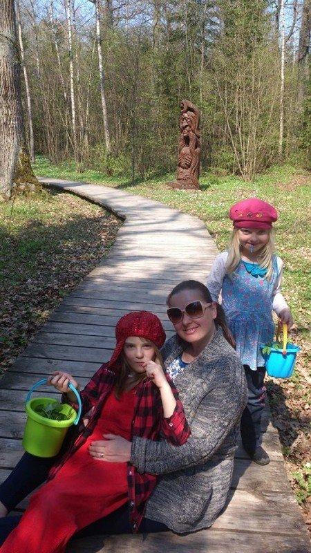 Rūta su dukrelėmis