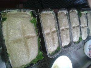 duona su kryziais
