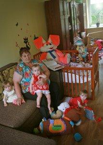 Didžiausia pagalbininkė – močiutė