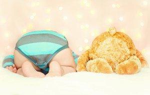 Kaip kūdikio mityba susijusi su užpakaliuko oda