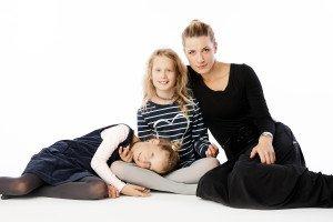 Eglė su vaikais