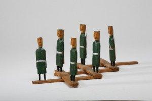 Muziejaus fonduose saugoma ir žaislinių Kareivėlių ir ginklų. Šie - gaminti meistro Miko Lankevičiaus. bei ginklų IMG_9480