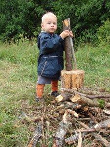 Šeimos tradicija vasarą bent dvi savaites pagyventi laukinėje gamtoje