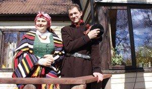 Jovita ir Vidmantas Lubiai- etnokultūros puoselėtojai.