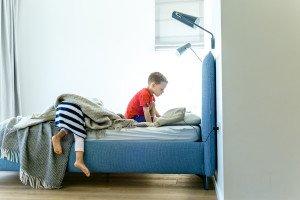 Mes su vaikais miegame kartu, na ir kas?
