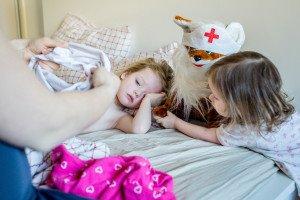 Kodėl rudenį vaikams dažniau skauda pilvukus