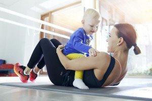 Lina su sūneliu