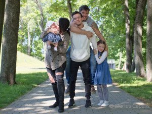 Su vaikais