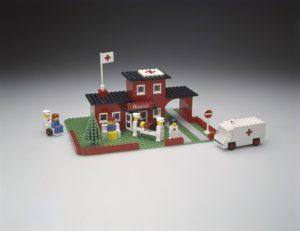 LEGO 1975 metų modelisLEGO 1975 metų modelis