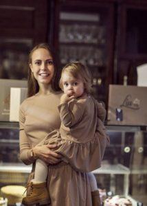 Berta su dukrele. Akvilės Razauskienės nuotr.