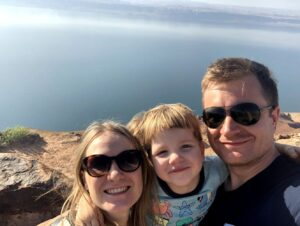 Kelionė į Jordaniją su vaiku