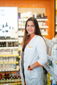 Gintarinė vaistinė vaistininkė Laura Vanagaitė (