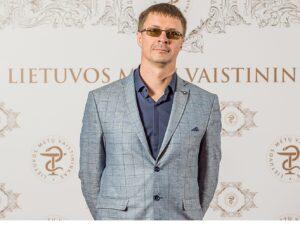 Gintarinės vaistinės vaistininkas Tadas Labanauskas