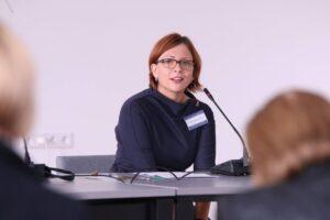 Literatūrologė, tarptautinės vaikų ir jaunimo literatūros asociacijos (IBBY) Lietuvos skyriaus pirmininkė Inga Mitunevičiūtė